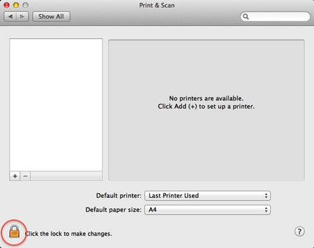 Printing under macOS - IT-Service Faculty of Physics - LMU